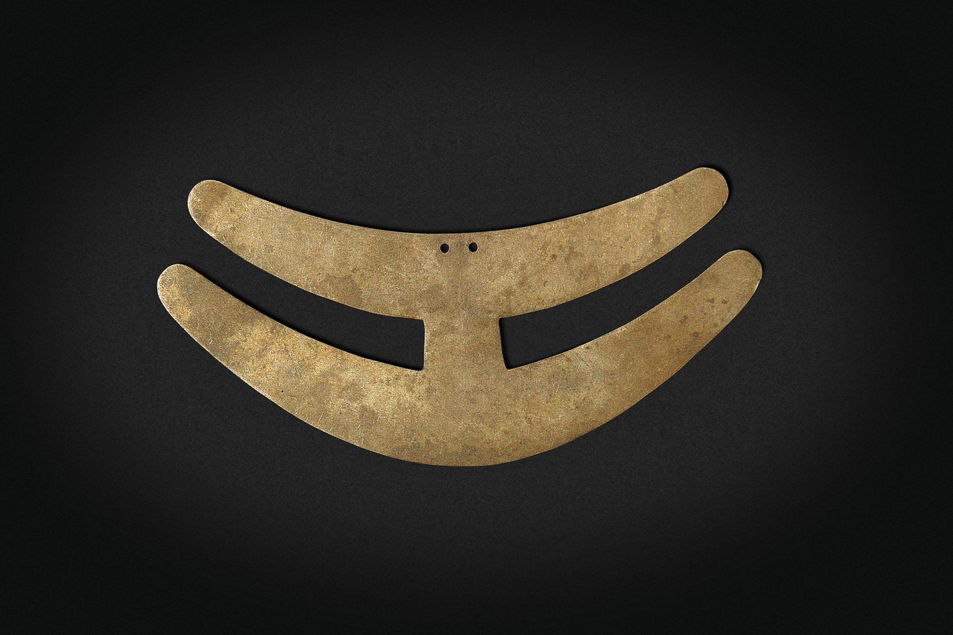 Colgante de cuello. Cultura Inca.