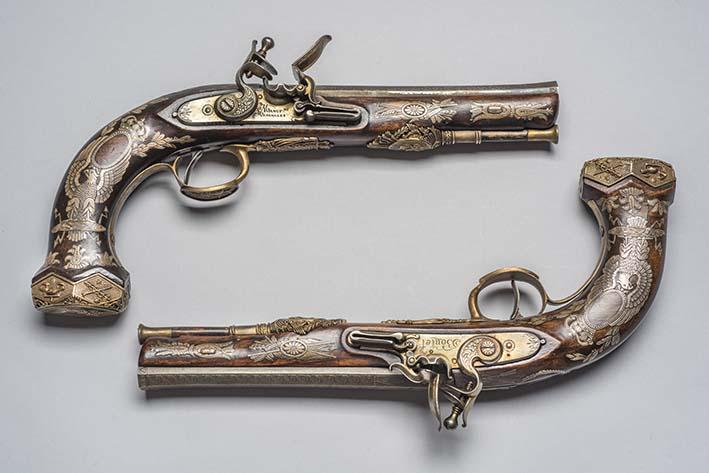 Pistola de Pedernal que pertenecieron a Napoleón I (1804-1814)