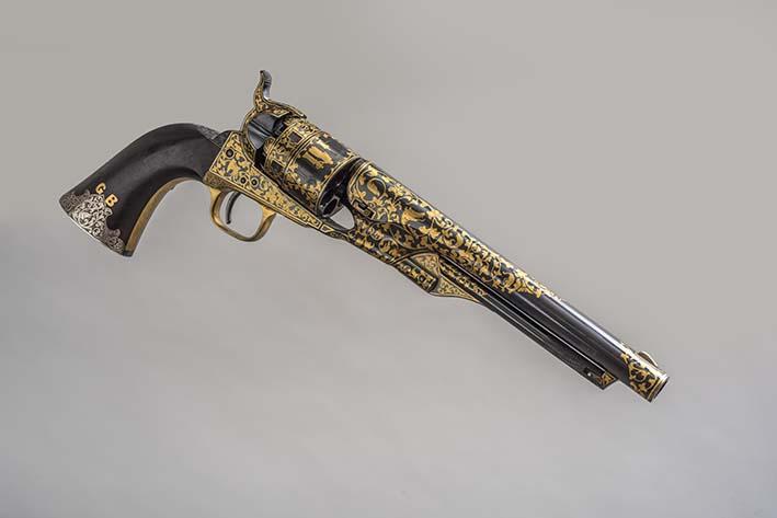Revolver Colt 1860 que perteneció a German Busch